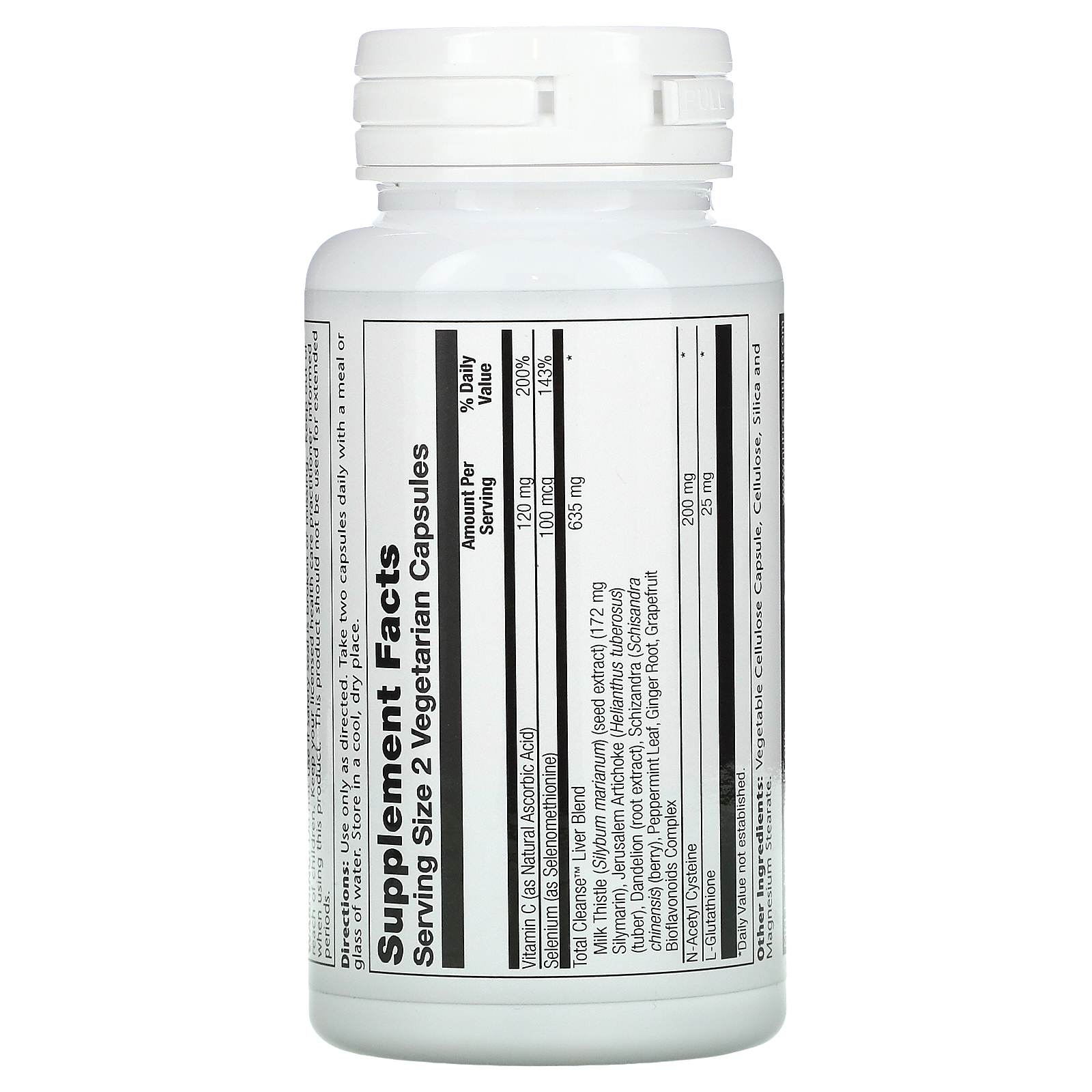 total cleanse liver solaray)