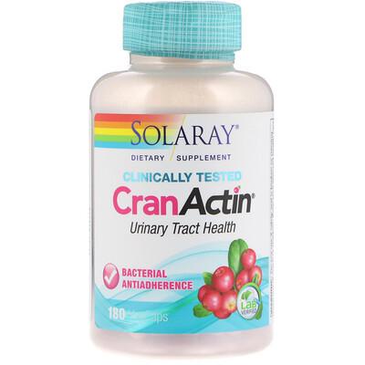 Купить CranActin, здоровье мочевыводящих путей, 180 капсул с растительной оболочкой
