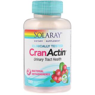 Solaray, CranActin, Urinary Tract Health, 180 VegCaps