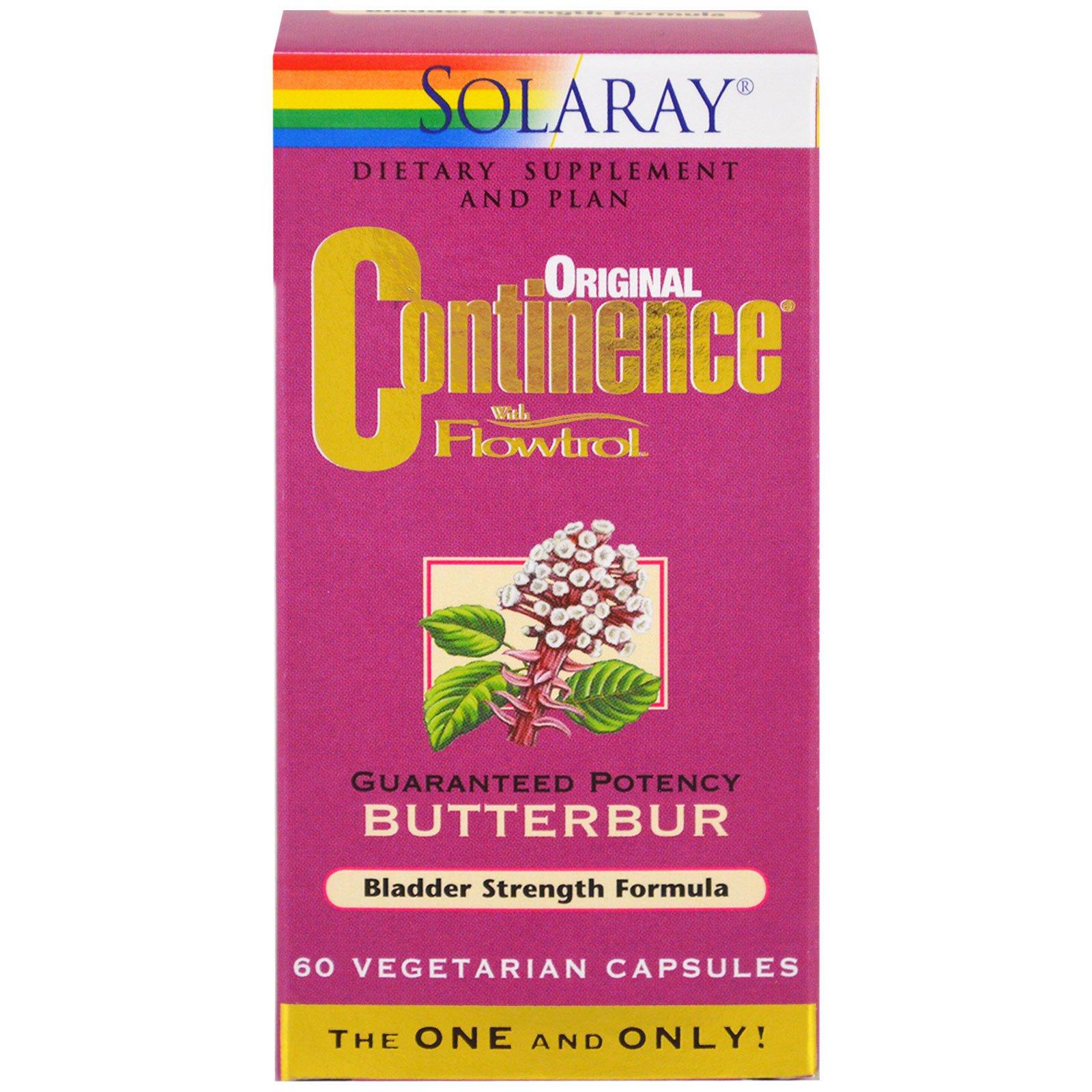Solaray, Оригинальная смесь с флетролом, 60 капсул растительного происхождения