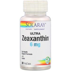 Соларай, Ultra Zeaxanthin, 6 mg, 30 VegCaps отзывы