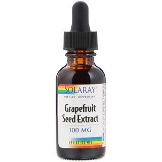 Solaray, Grapefruit Seed Extract, 100 mg, 1 fl oz (30 ml)