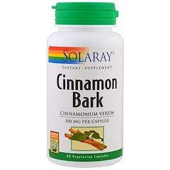 Solaray, Cinnamon Bark, 60 Veggie Caps