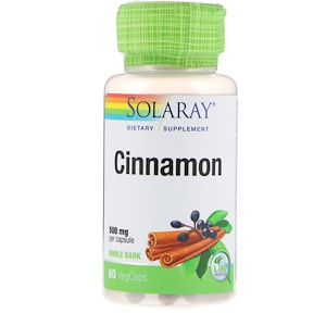 Соларай, Cinnamon , 500 mg, 60 VegCaps отзывы