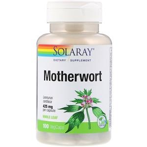 Соларай, Motherwort, 425 mg, 100 VegCaps отзывы