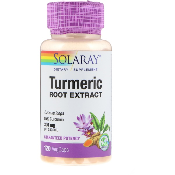 Turmeric Root Extract, 300 mg, 120 VegCaps
