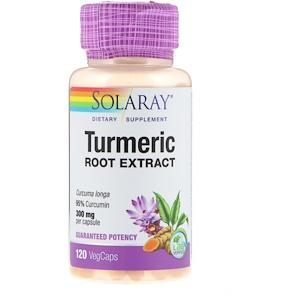 Соларай, Turmeric Root Extract, 300 mg, 120 VegCaps отзывы покупателей