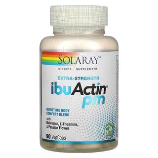 Solaray, Extra-Strength IbuActin PM, 90 VegCaps