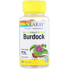 Organically Grown Burdock, 485 mg, 100 VegCaps