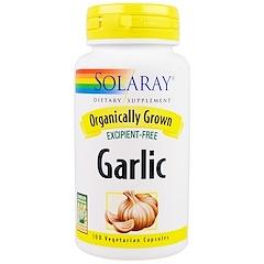 Solaray, Garlic, 100 Veggie Caps