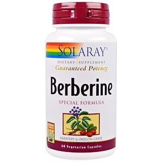 Solaray, Berberine, Special Formula, 60 Veggie Capsules