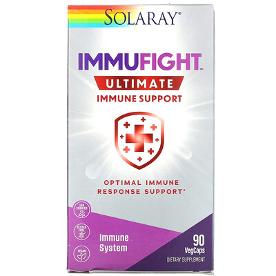 Купить Solaray ImmuFight, Ultimate Immune Support, 90 Vegetarian Capsules