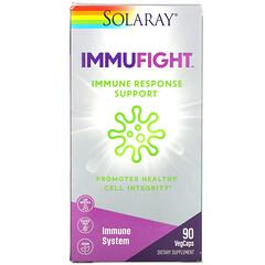 Solaray, ImmuFigh,機體抵抗反應支持,90 粒素食膠囊
