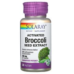 Solaray, 活化西蘭花籽提取物,350 毫克,30 粒素食膠囊