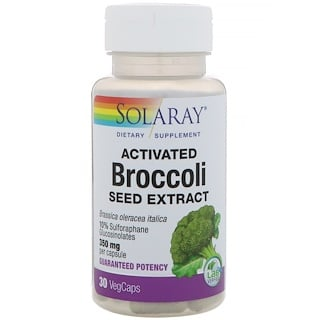 Solaray, Activated Broccoli Seed Extract, 30 VegCaps
