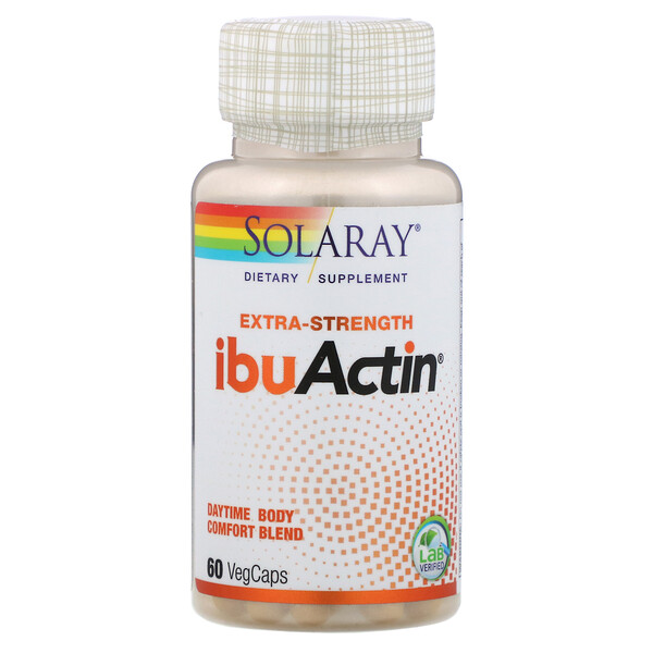 Solaray, Extra-Strength IbuActin, 60 VegCaps