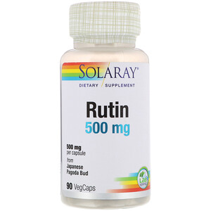 Соларай, Rutin, 500 mg, 90 VegCaps отзывы