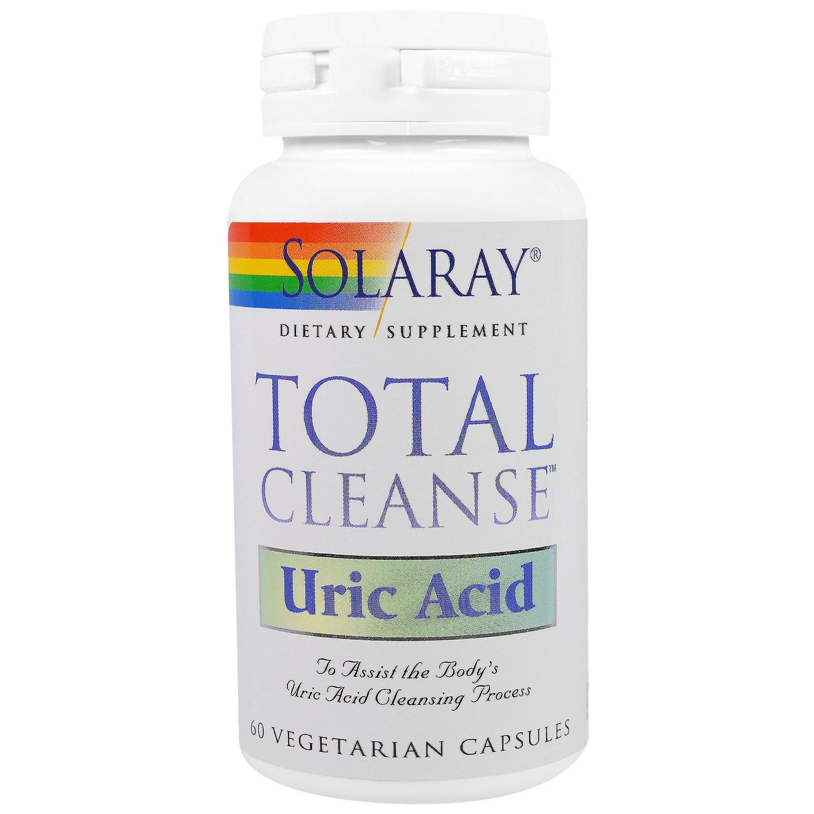 Solaray, Total Cleanse, Uric Acid, 60 Veggie Caps - iHerb com