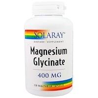 Глицинат магния, 400 мг, 120 капсул на растительной основе - фото