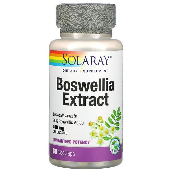 Boswellia Extract, 450 mg, 60 VegCaps