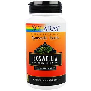 Соларай, Boswellia, 450 mg, 60 Vegetarian Capsules отзывы покупателей