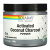 Solaray, Activated Coconut Charcoal Powder, Aktivkohlepulver mit Kokosnuss, 500 mg, 150 g (5,3 oz.)