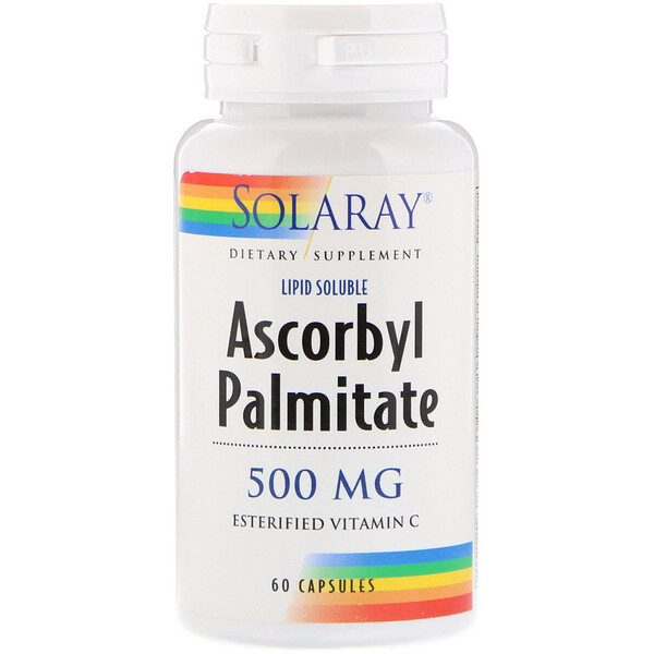 Ascorbyl Palmitate, 500 mg, 60 Capsules
