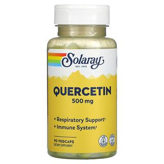 Solaray, Quercetin, 500 mg, 90 VegCaps