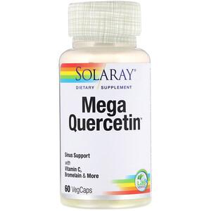 Соларай, Mega Quercetin, 60 VegCaps отзывы покупателей