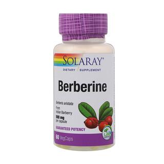 Solaray, Berberine, 500 mg, 60 VegCaps