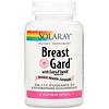 Solaray, BreastGard with EstroFlush, Breast Health Formula, 60 Vegetarian Capsules