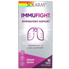 Solaray, ImmuFigh,呼吸系統支持,90 粒素食膠囊