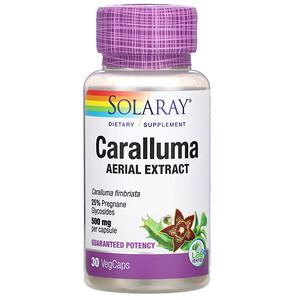 Соларай, Caralluma Aerial Extract, 500 mg, 30 VegCaps отзывы