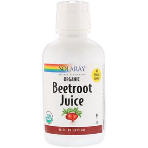 Соларай, Organic Beetroot Juice, 16 fl oz (473 ml) отзывы