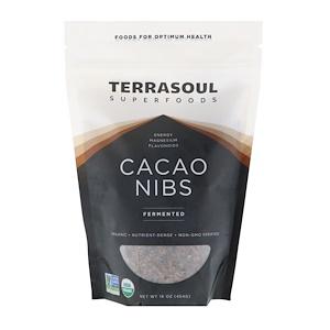 Terrasoul Superfoods, Cacao Nibs, Fermented, 16 oz (454 g) отзывы покупателей