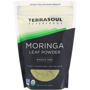 Terrasoul Superfoods, Moringa Leaf Powder, Miracle Tree, 12 oz (340 g) отзывы