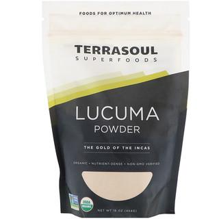 Terrasoul Superfoods, Lucuma em Pó, O Ouro dos Incas, 16 oz (454 g)