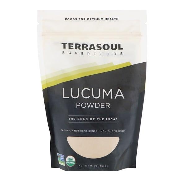 Terrasoul Superfoods, 蛋黃果粉,印加黃金,16 盎司(454 克)