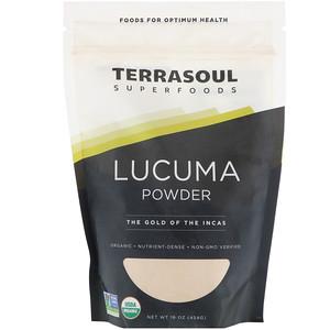 Terrasoul Superfoods, Lucuma Powder, The Gold Of The Incas, 16 oz (454 g) отзывы