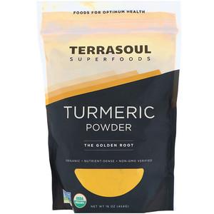 Terrasoul Superfoods, Turmeric Powder, 16 oz (454 g) отзывы