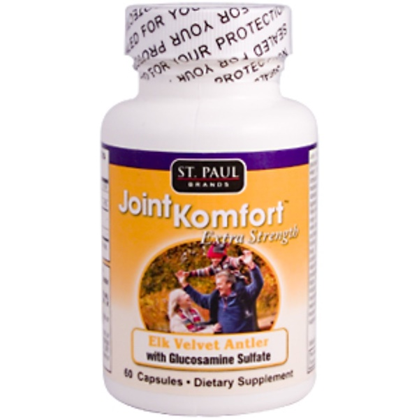 St. Paul Brands, Joint Komfort, Extra Strength, 60 Capsules (Discontinued Item)