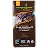 Endangered Species Chocolate, Natural Dark Chocolate with Sea Salt & Almonds, 3 oz (85 g)