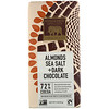 Endangered Species Chocolate, Amandes, sel de mer et chocolat noir, 85g