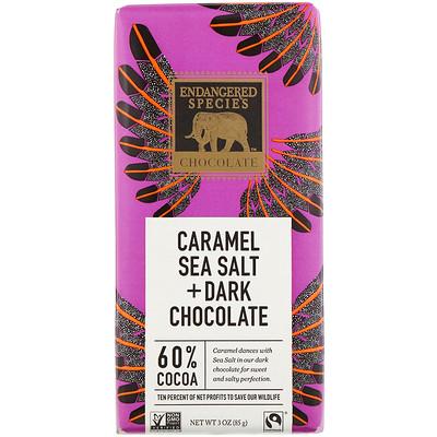 Купить Caramel Sea Salt + Dark Chocolate, 3 oz (85 g)
