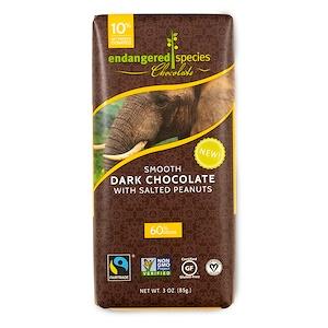 Индэнджэрд Списис Чоколат, Smooth Dark Chocolate with Salted Peanuts, 3 oz (85 g) отзывы