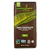 Endangered Species Chocolate, Natural Dark Chocolate with Forest Mint, 3 oz (85 g)