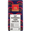 Endangered Species Chocolate, Tart Raspberries + Dark Chocolate Bar, 3 oz (85 g)