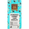 Endangered Species Chocolate, Cranberries, Almonds + Dark Chocolate, 3 oz (85 g)
