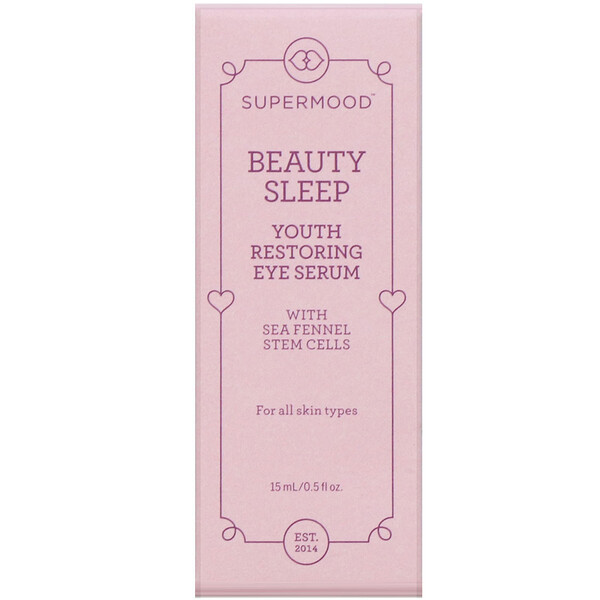 Supermood, Beauty Sleep, Youth Restoring, Sérum yeux, 15 ml