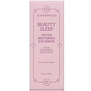 Supermood, Beauty Sleep, Youth Restoring Eye Serum, 0.5 fl oz (15 ml) отзывы